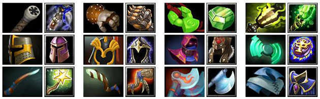 DotA 2 Items List
